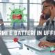 germi e batteri in ufficio